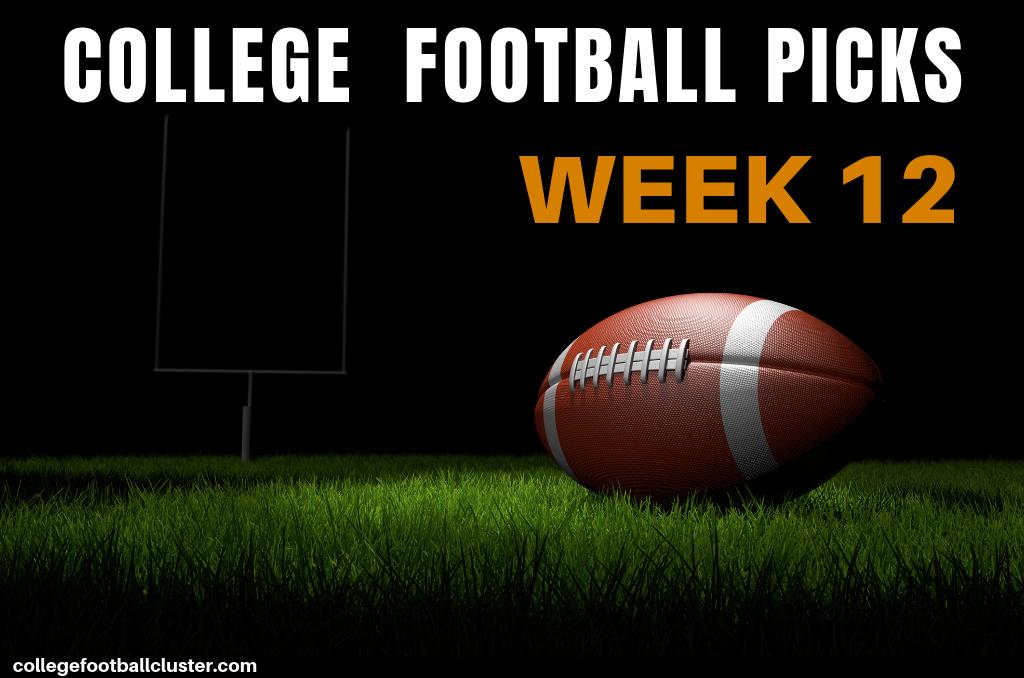 College Football Picks- Week 12